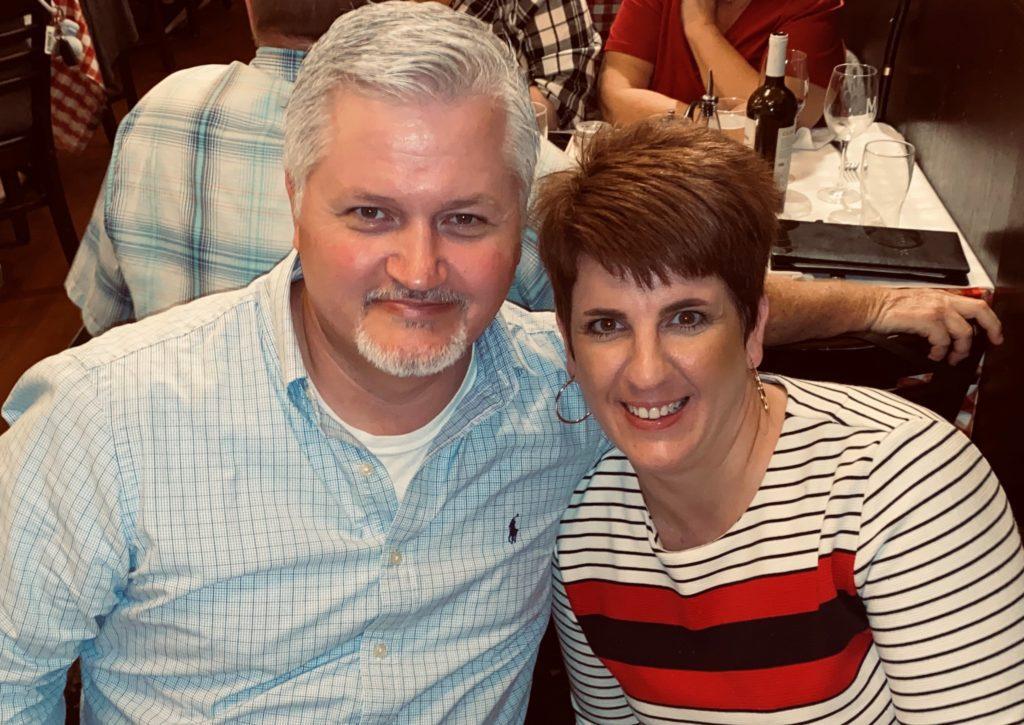 TBC alumni Paul and Jill Scott